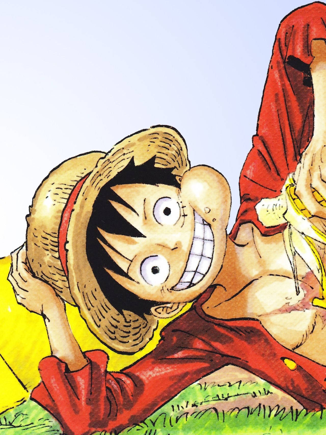 Monkey D. Luffy Manga anime, Anime, One piece