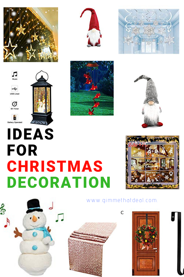 Christmas decor Deals of the Day | Home and Garden | Pinterest ...