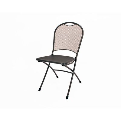 Kettler Monte Carlo Folding Side Chair in Gray - QH341620 | BB ...