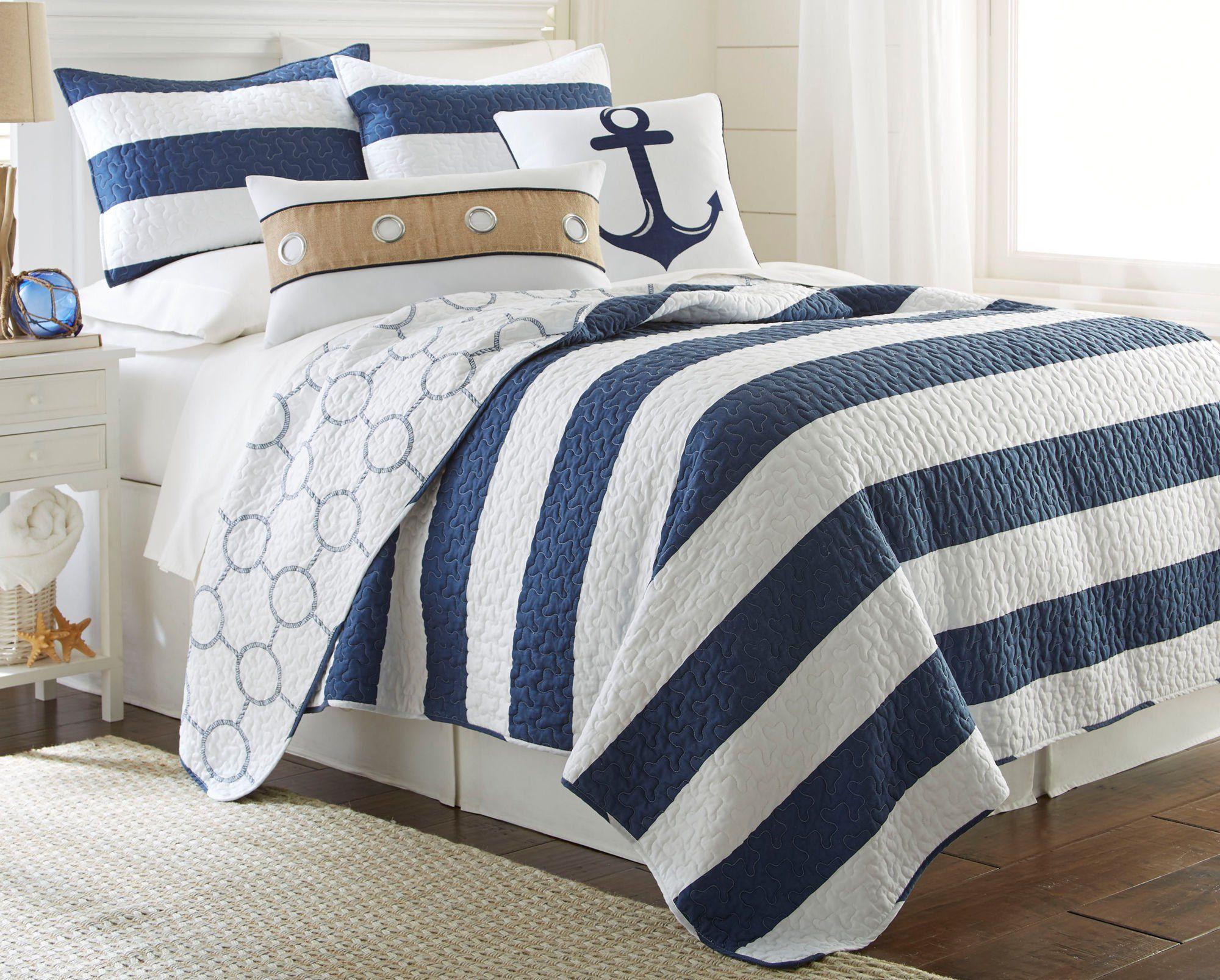 elise  james home hallie rope quilt set bedding full