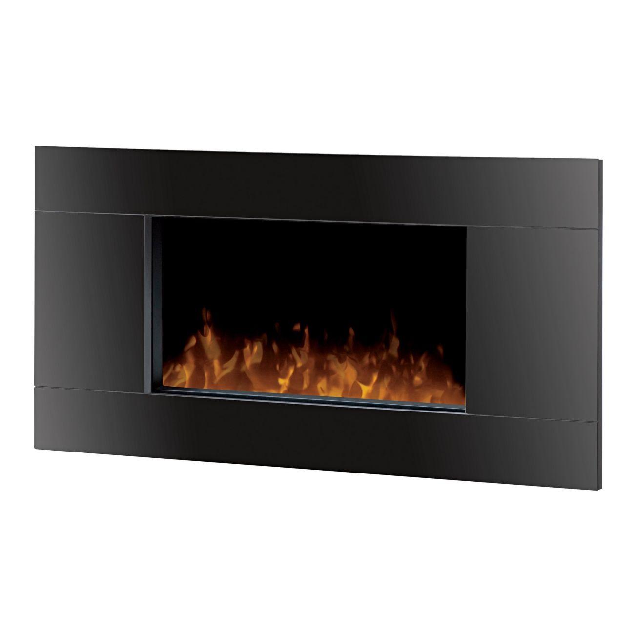 Dimplex Black Wall Mount Lane Electric Fireplace (DWF ...