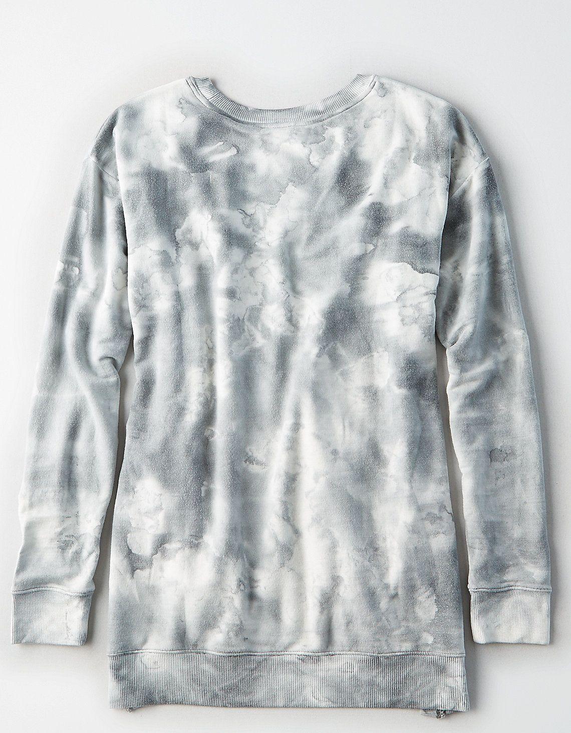Aeo soft u sexy split side sweatshirt aeo soft fabrics and sweatshirt