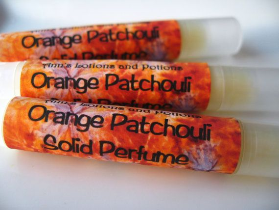 Orange Patchouli Solid Perfume