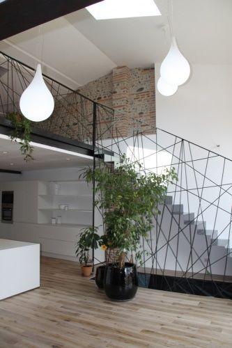 garde corps toile d 39 araign e et murs la toulousaine. Black Bedroom Furniture Sets. Home Design Ideas