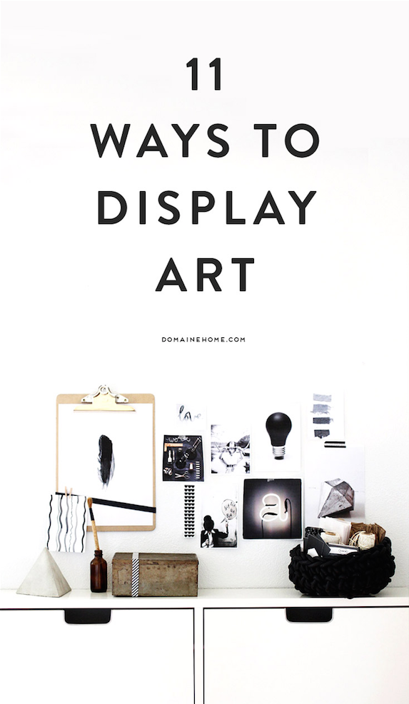 11 Ways To Display Art At Home Follow The Link Get Ideas But Affordable And Unique Photo Visit Bx3foto Etsy