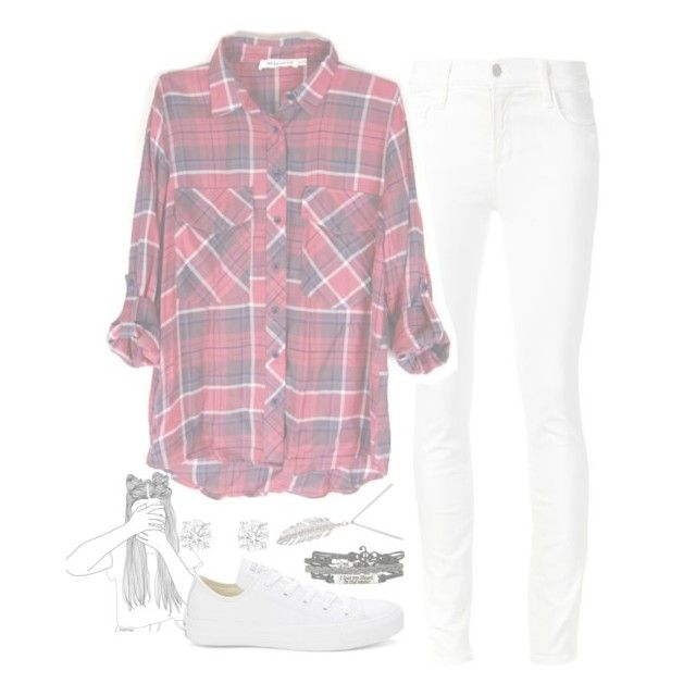 """//We are the leaders of the not coming backs//"" by xxinfinateunicornxx ❤ liked on Polyvore featuring J Brand, Converse, Delicates by Paloma & Ellie and Unicornssets"