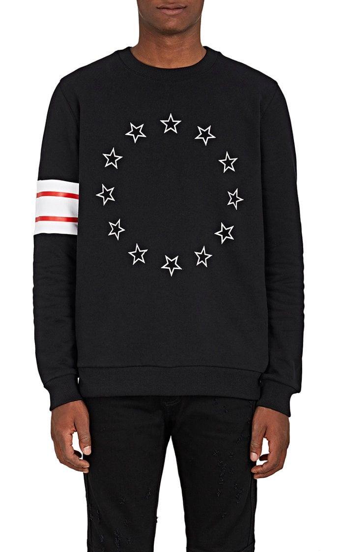 f73513807a GIVENCHY Stars & Stripes Cotton Fleece Sweatshirt. #givenchy #cloth ...
