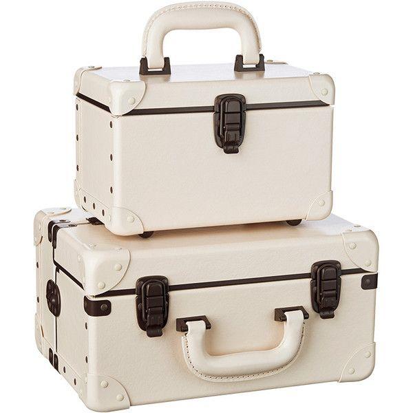 スーツケース ❤ liked on Polyvore featuring bags