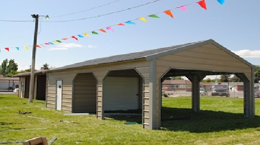 18x30 A Frame Vertical Roof Utility Carport