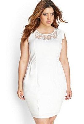 e903e61f49 vestidos en blanco para gorditas
