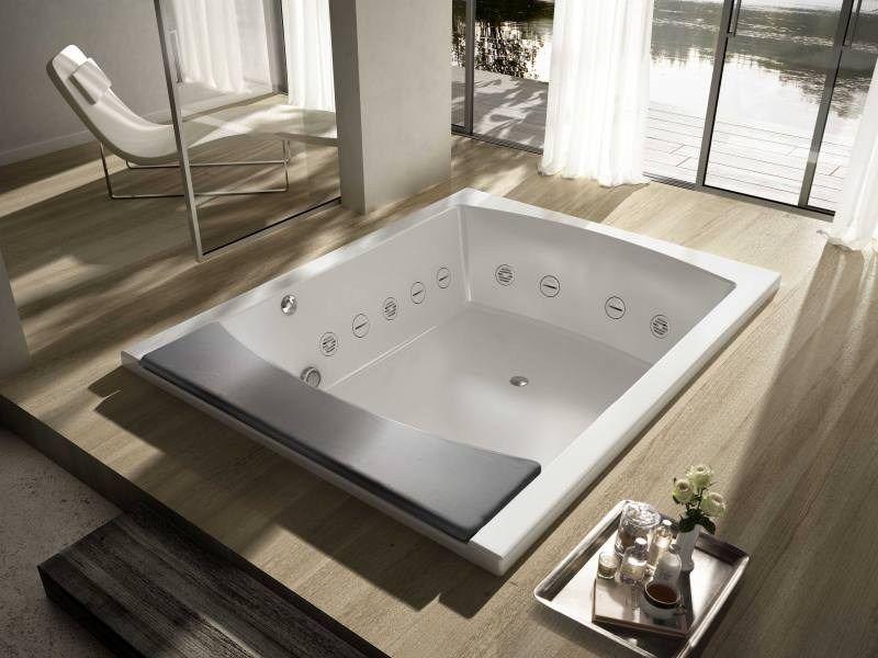 Vasca da bagno a 2 posti idromassaggio SEASIDE T08 by TEUCO design ...