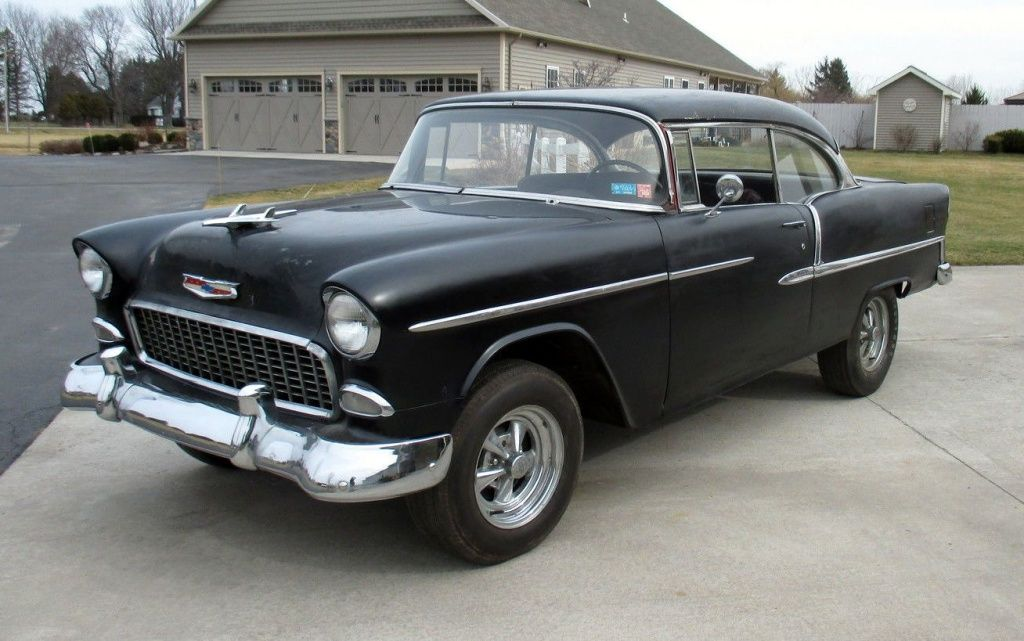 Parked For 40 Years 1955 Chevrolet Bel Air With Images