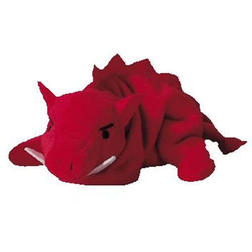 e5cbe00925f175 TY Beanie Baby - GRUNT the Razorback (4th Gen hang tag) (9 inch ...