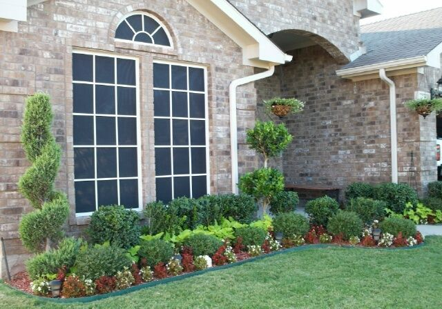 Awesome Spiral Trees For Landscaping Landscape Ideas Front Yard Curb Appeal Landscaping With Rocks Front Yard Landscaping