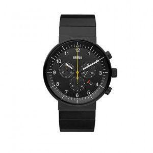 BN0095 Uhr - Stahl/Schwarz