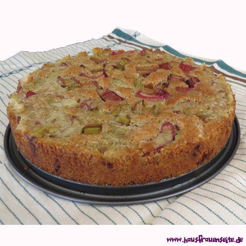 Rhabarberkuchen ruhrteig