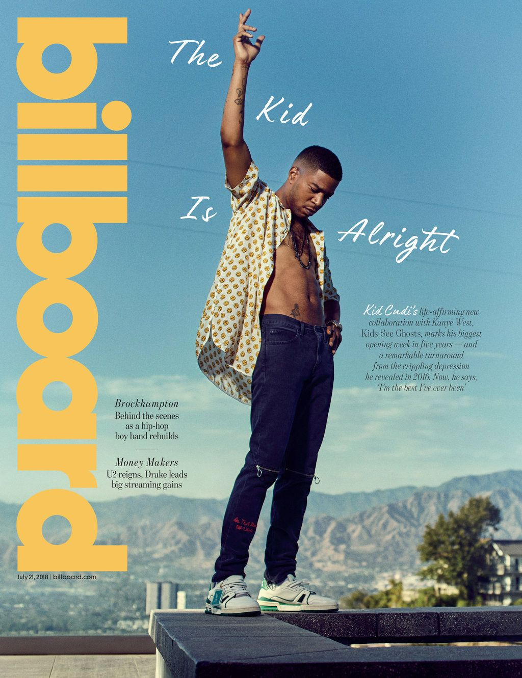 2018 The Covers (With images) Kid cudi, Billboard music