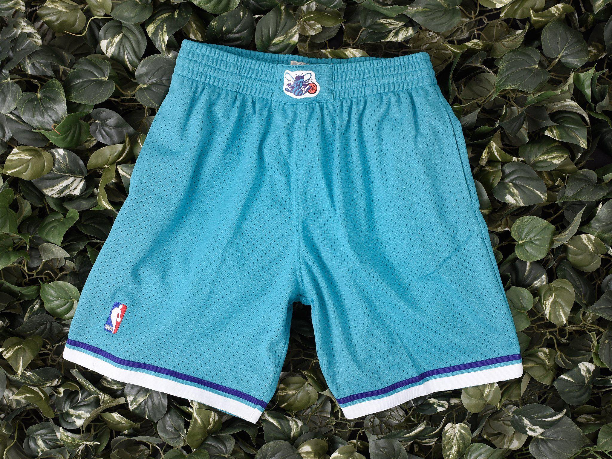 af4fd9e64d Mitchell & Ness NBA Swingman Shorts 'Hornets' [540BA-3CT] | Mitchell ...