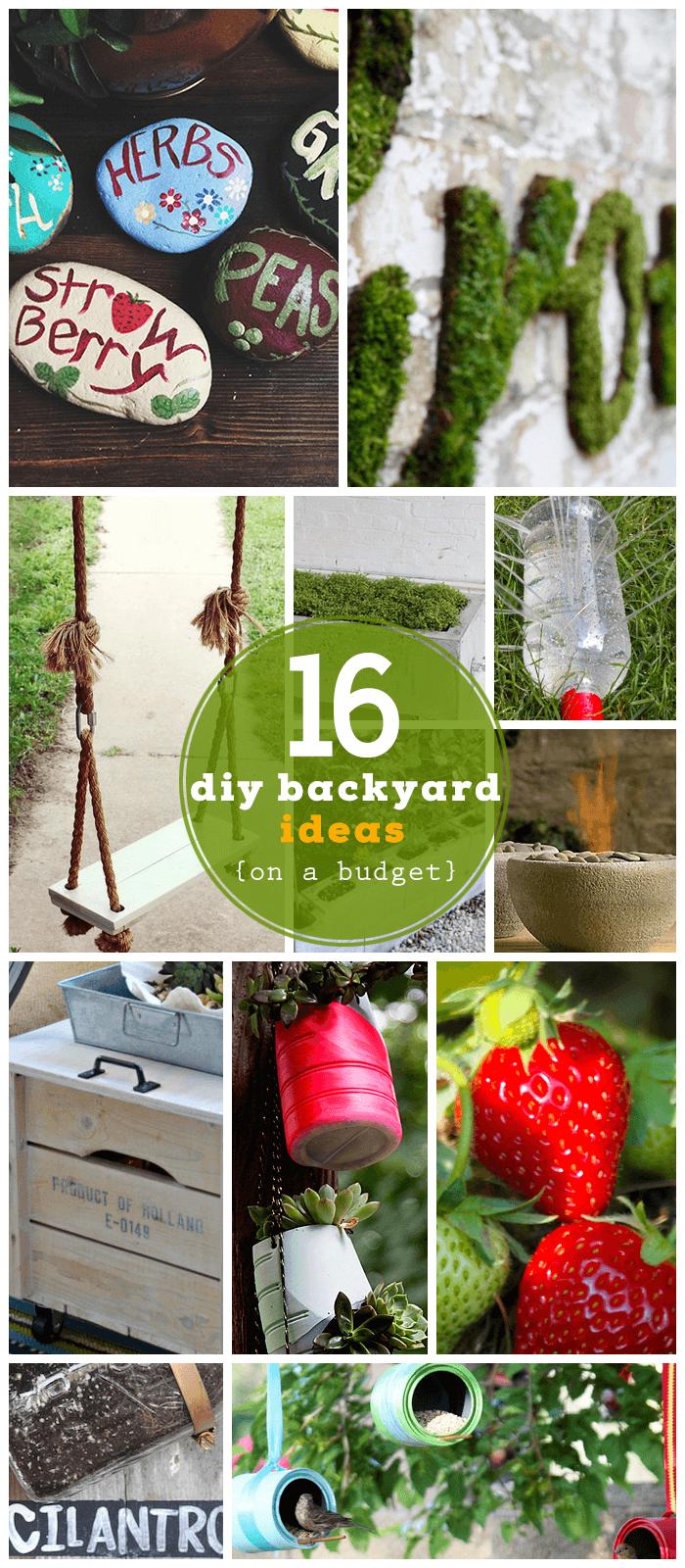 20 genius diy garden ideas on a budget gardens garden ideas and kid