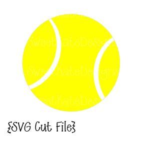 Tennis Ball Svg Tennis Silhouette Design Silhouette Portrait