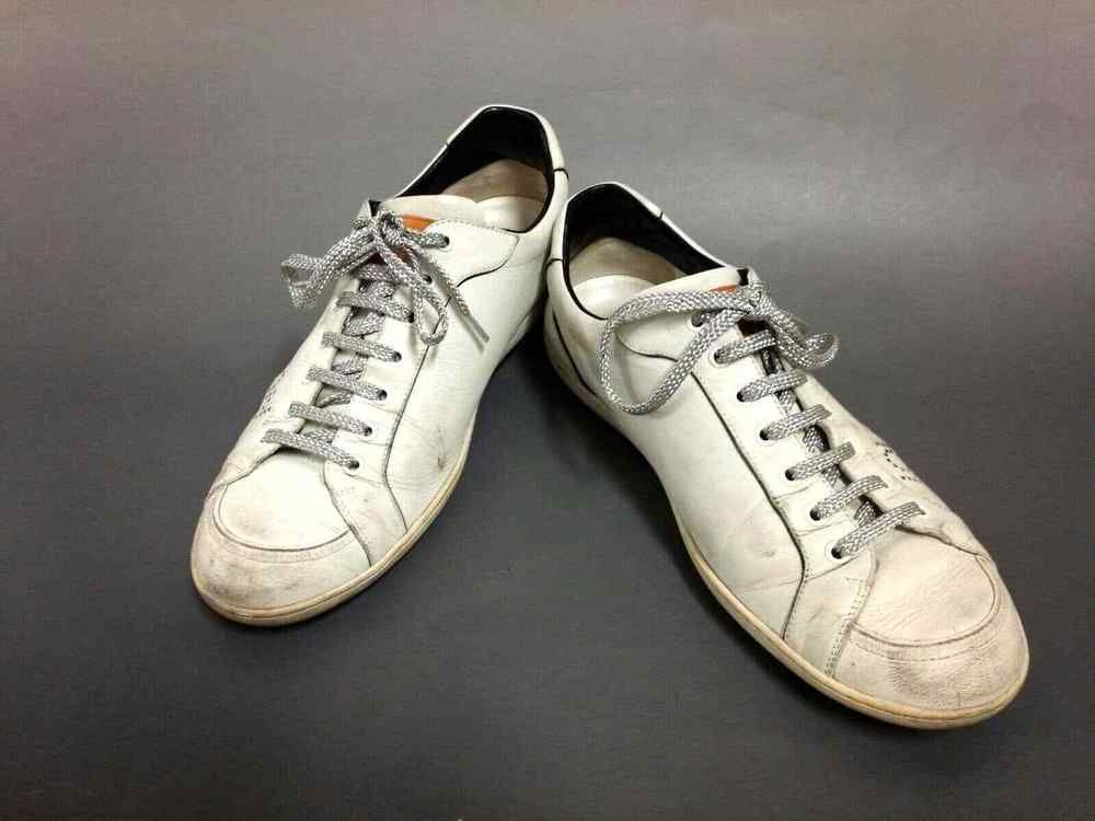 Auth LOUIS VUITTON White GO0097 Men s Sneakers Leather US  8  fashion   clothing  shoes  accessories  mensshoes  athleticshoes (ebay link) 44fc81761