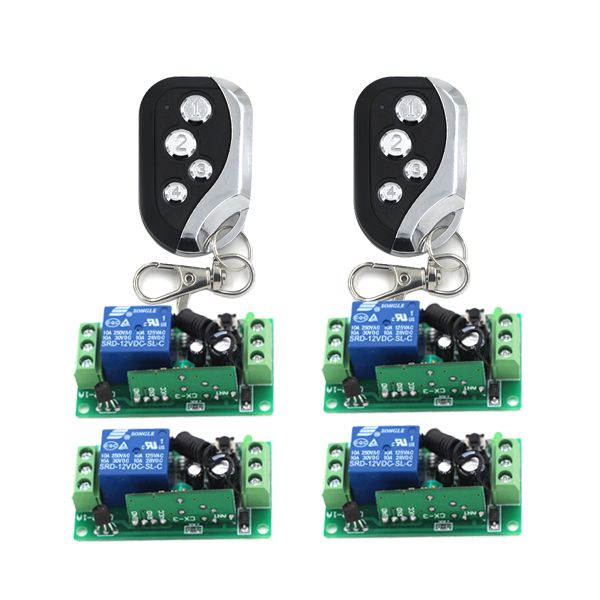 Digital 12v 1 Channel Learn Code Rf Gate Garage Door Remote Control Switch 2 Transmitter Garage Door Remote Control Garage Door Remote Garage Door Replacement