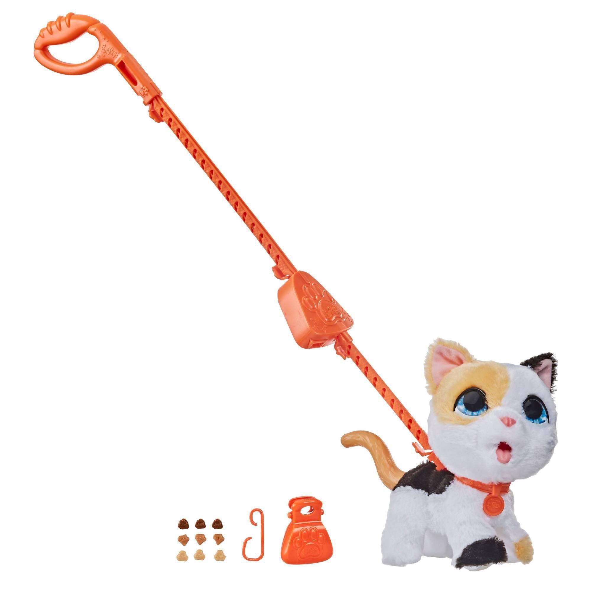 Furreal Poopalots Big Wags Cat In 2020 Fur Real Friends Animal Figures Kitten Toys