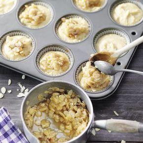Bienenstich-Muffins #apfelmuffinsrezepte