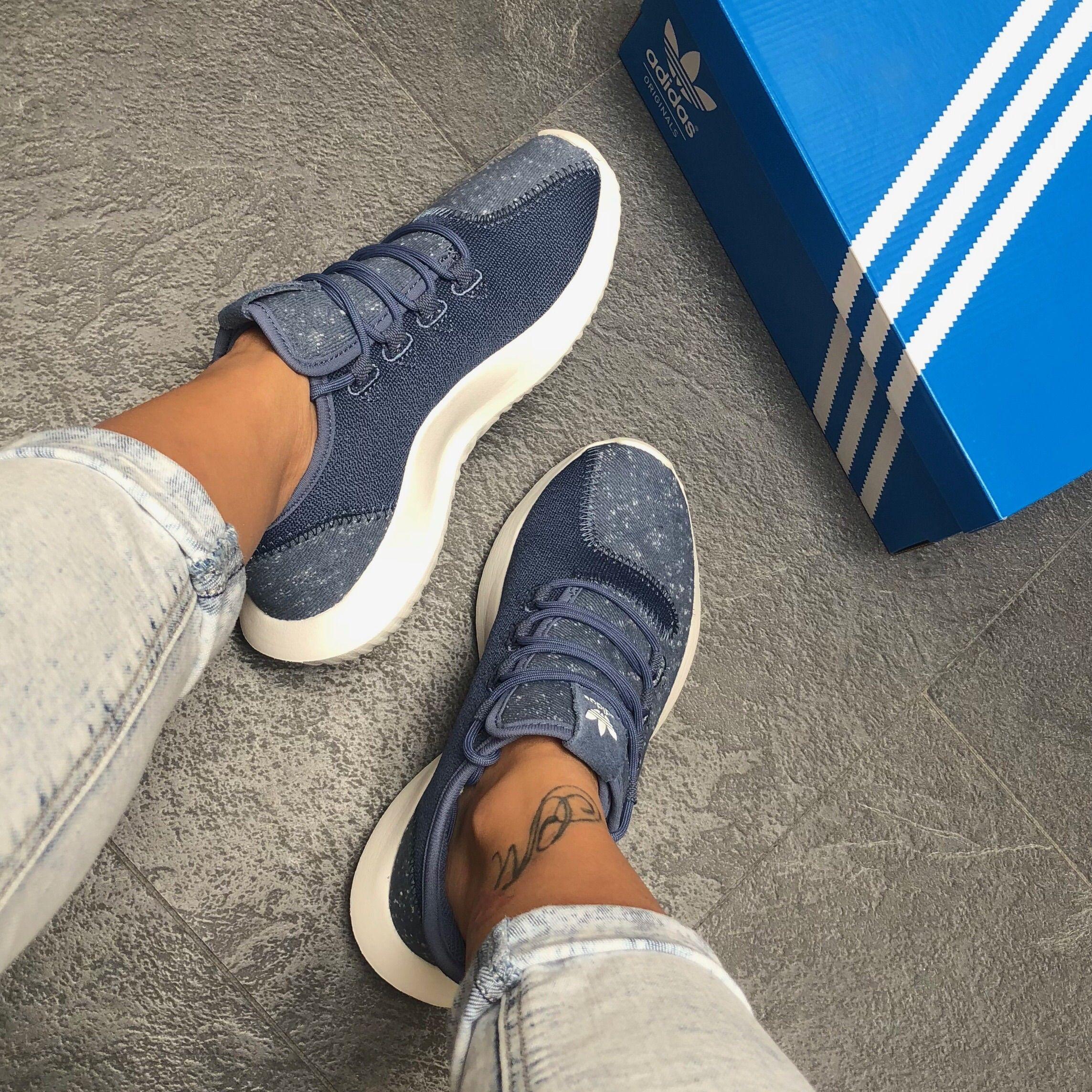 Günstige Adidas Originals Tubular Shadow Weiß Sneaker Herren