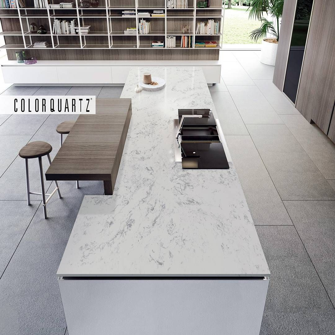Learn Kitchen Design: Beautiful Kitchen Island Done In CQ856 Spyder From Our