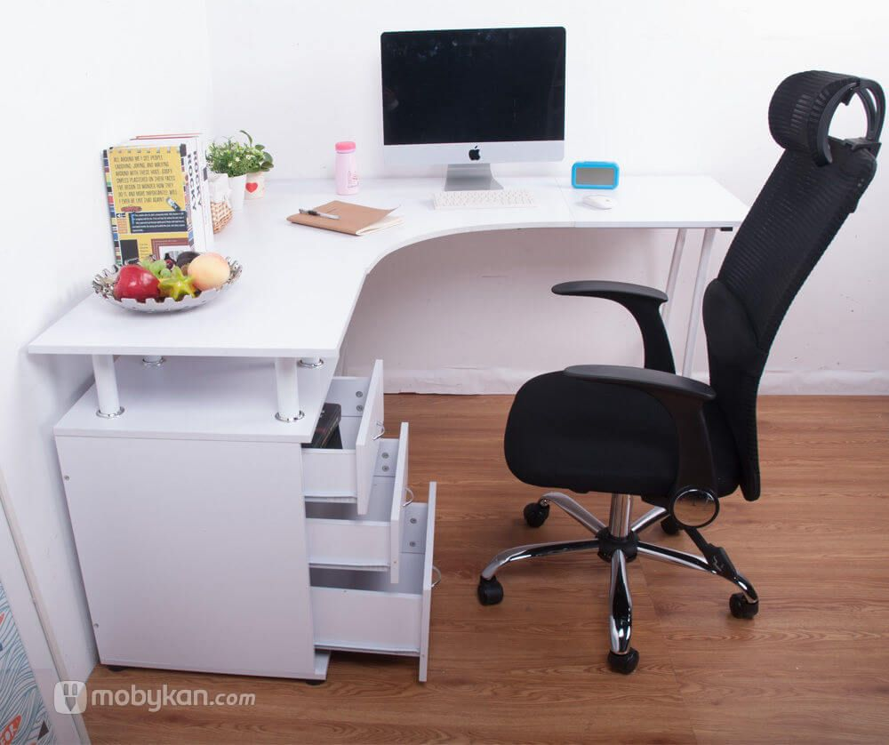 صور مكاتب مميزه و مودرن مجلة موبيكان Diy Corner Desk Computer Desks For Home Corner Computer Desk