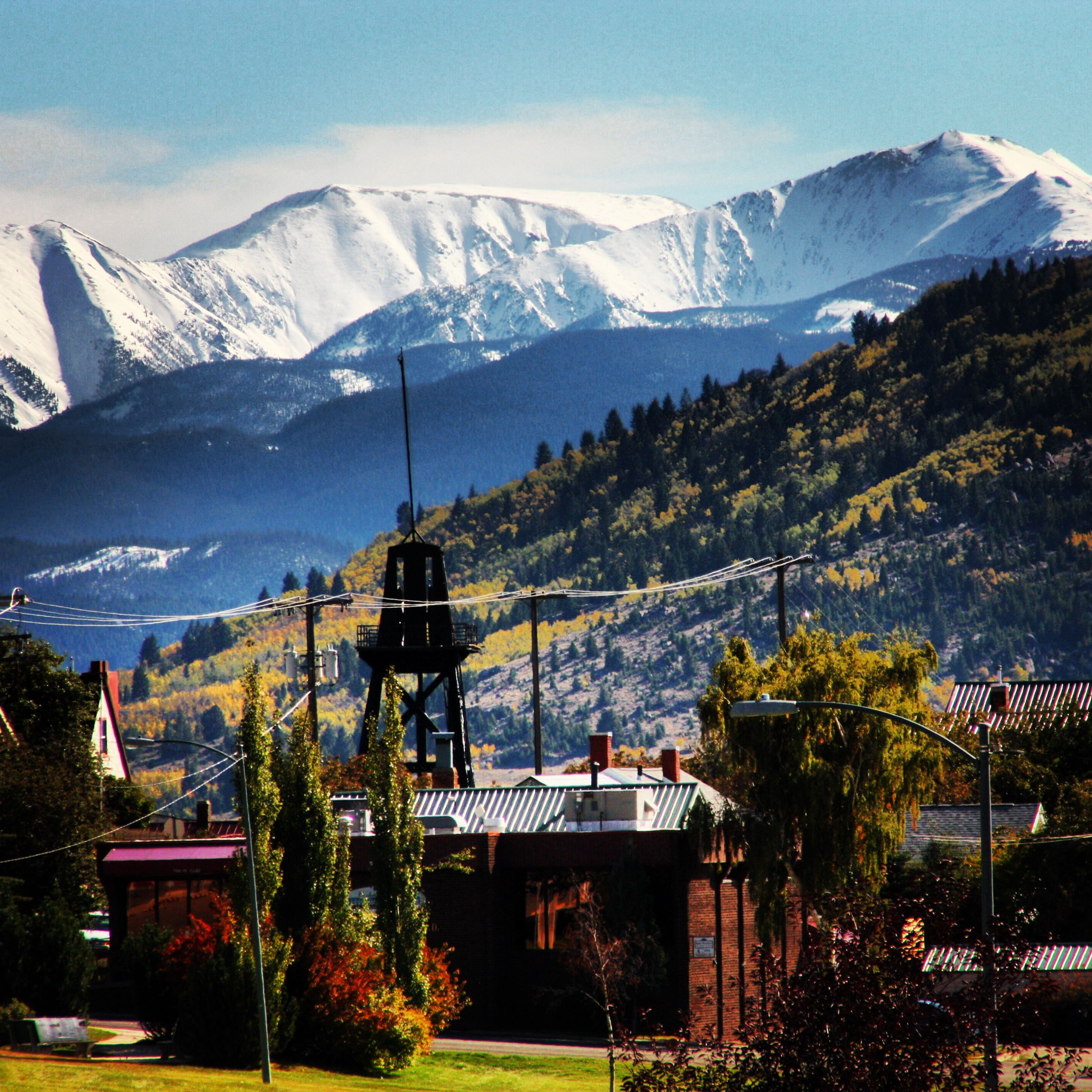 Fall In Butte, Montana,, Where My Brother Is Moving To