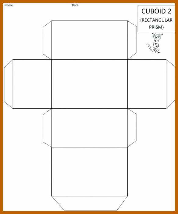 5 6 rectangle box template resumesheets crafts pinterest box