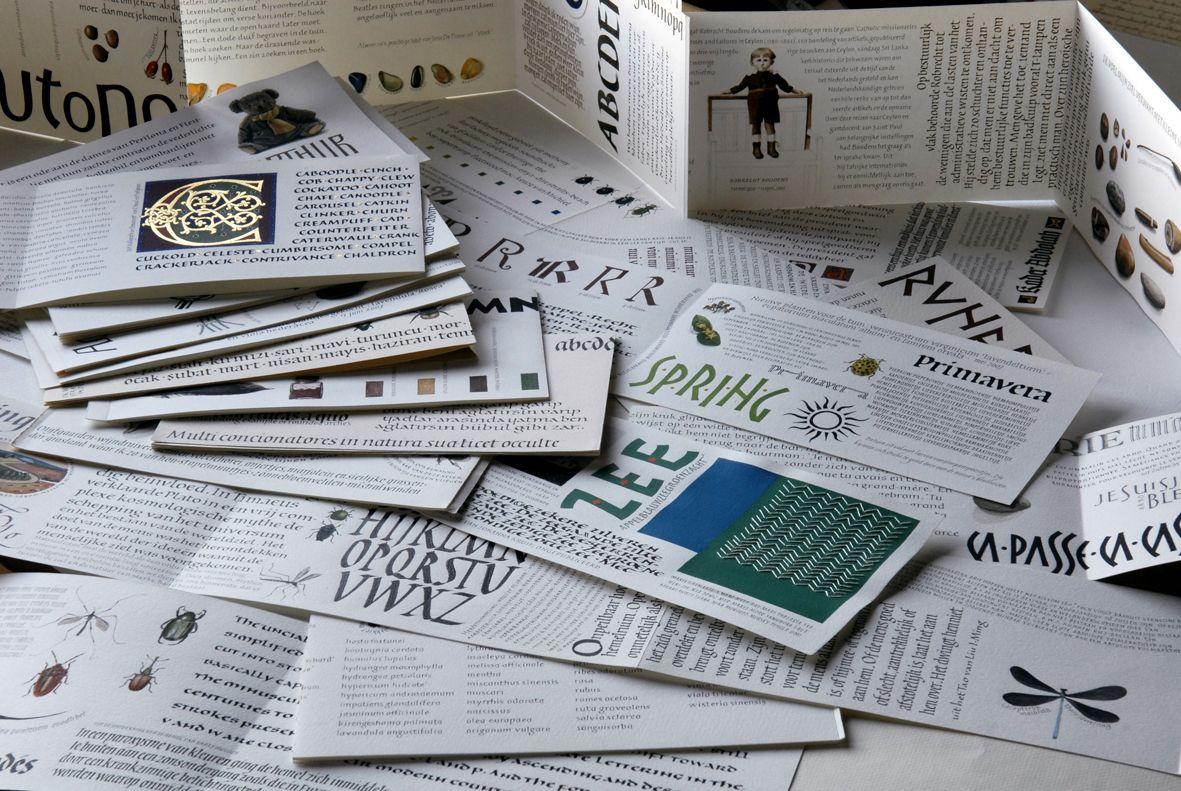 pile of handwritten books by joke boudens