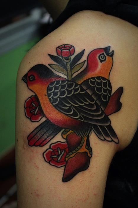 Pin By J J On Tattoo Traditional Tattoo American Traditional Tattoo Tattoos