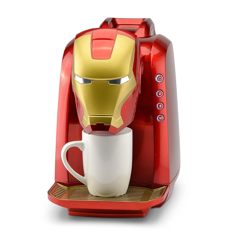 10 Fun Marvel Kitchen Appliances Single coffee maker
