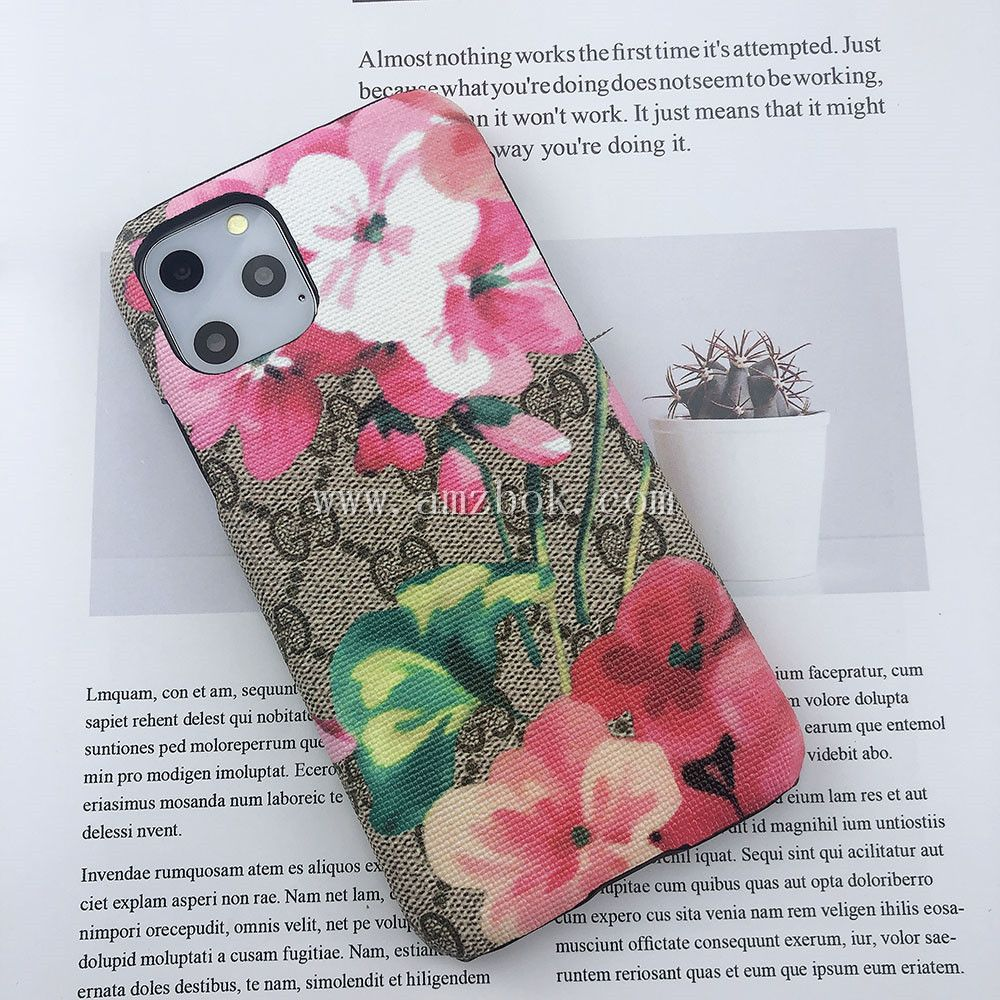 Luxury Flower iPhone 6 11 Back Case Cover in 2020