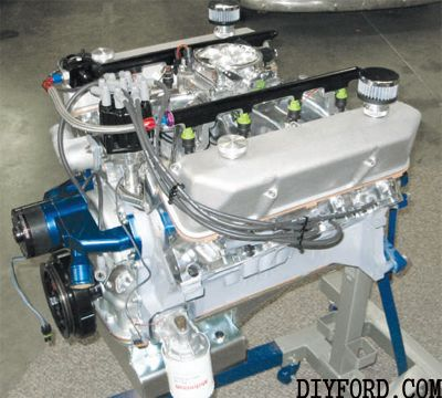 ford 390 fe edelbrock fuel injection conversion | Ford 390 Efi