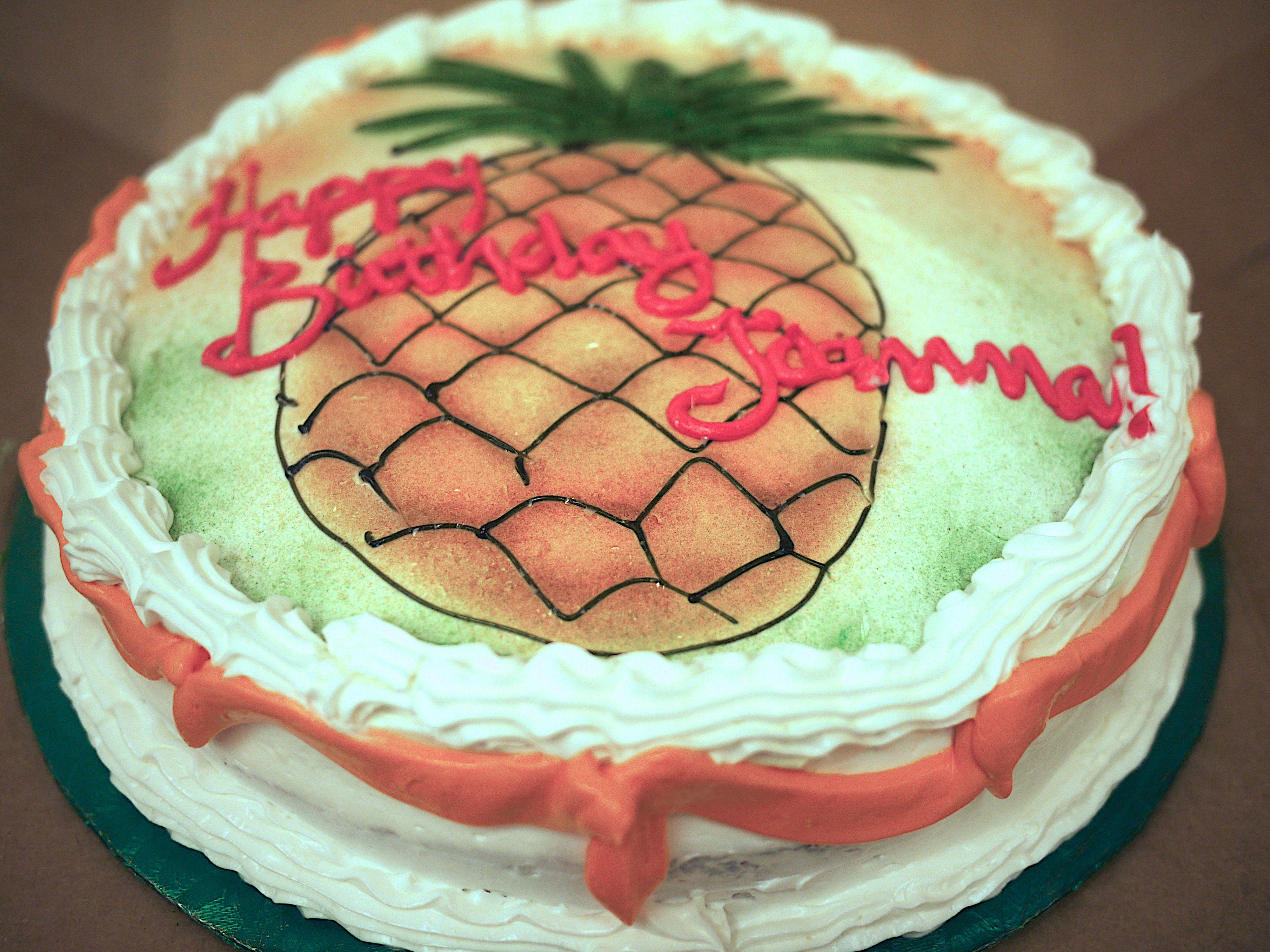 Birthday Cake For Frankie Jo For Her Birthday Representing