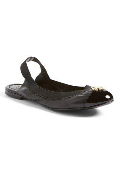 2dd2232091a79a TORY BURCH  Jolie  Slingback Ballet Flat.  toryburch  shoes  flats ...