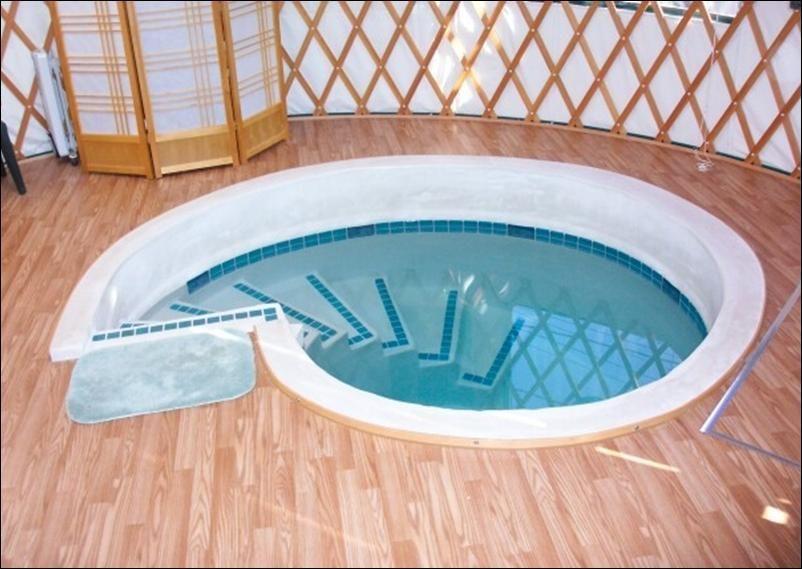 Pin By Mandy Ash On Yurt Yurt Yurt Living Hot Tub