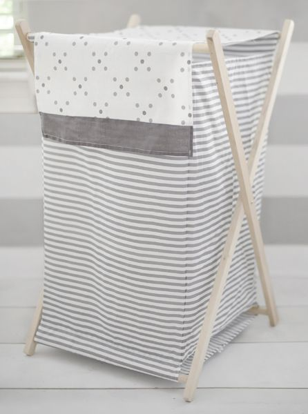 Nursery Hamper Gray