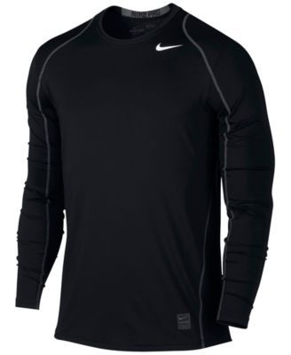 3f15151e87b76 Nike Pro Cool Dri-FIT Fitted Long-Sleeve Shirt | t-shirts | Nike men ...
