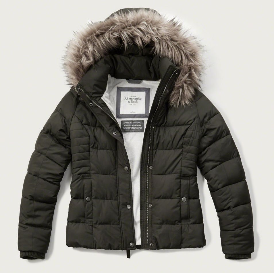 fd57904ef Details about New Womens Ladies Quilted Padded Bubble Fur Hooded ...