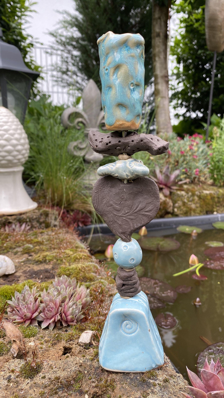 Keramik Kerzenstander Kerzenhalter Steinzeug Vogeltranke Getopfert In 2020 Colorful Candles Candle Holders Candles