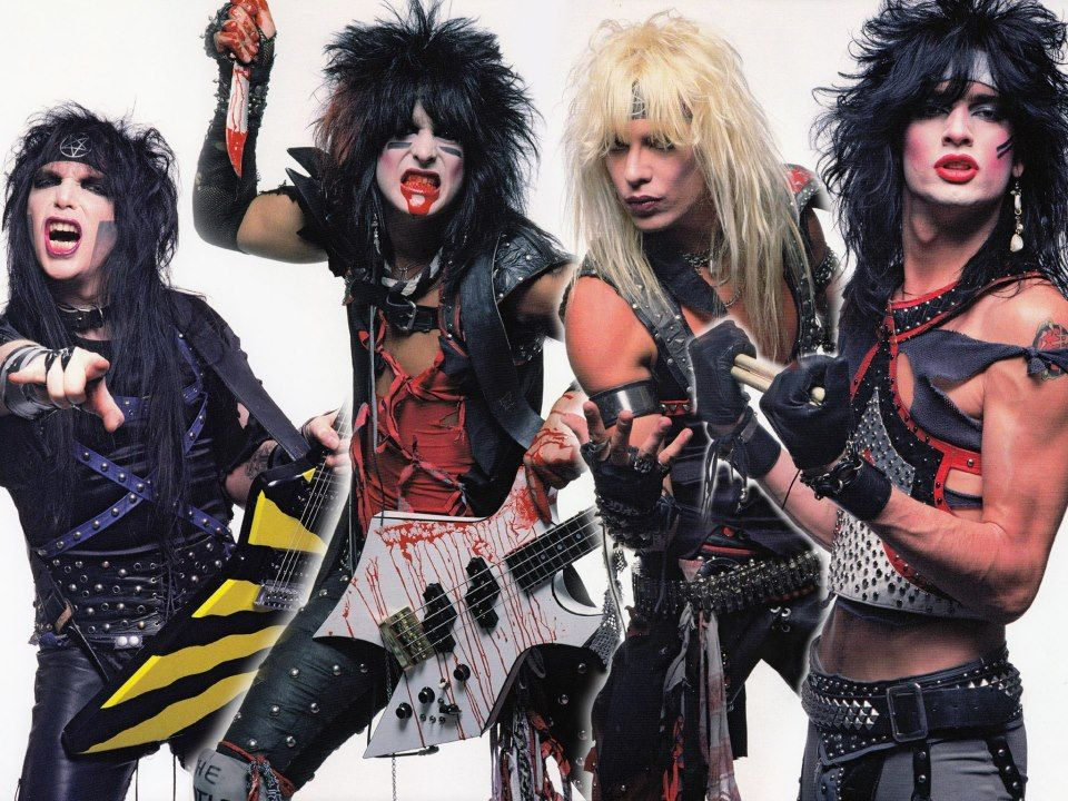 rock stars of the 80s