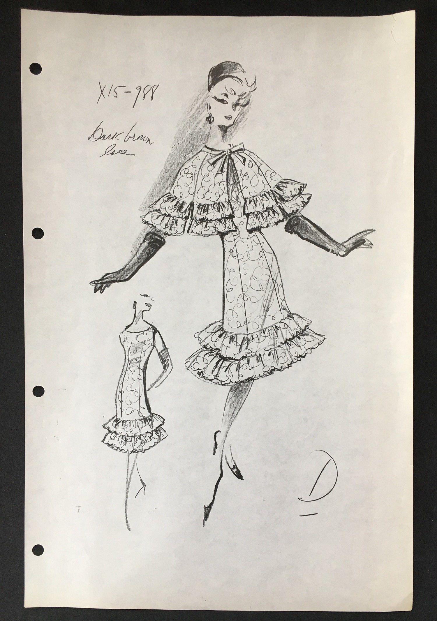 Vintage Fashion Designer Sketchstat Sheetdrawingbalenciaga Fashion Design Drawing Fashion Design Vintage Fashion