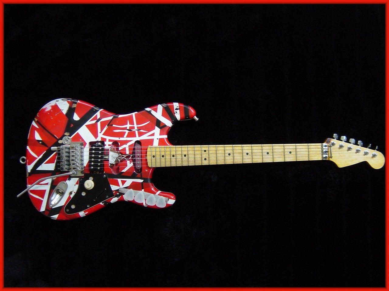 The Van Halen Frankenstrat Van Halen Eddie Van Halen Halen