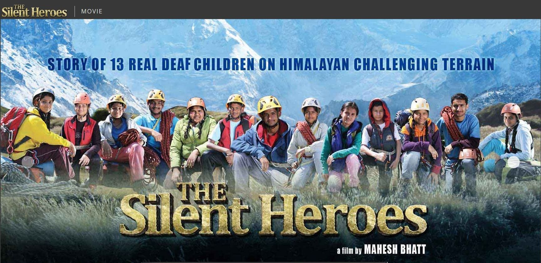 The first deaf Movie in India with 13 Real Deaf Children