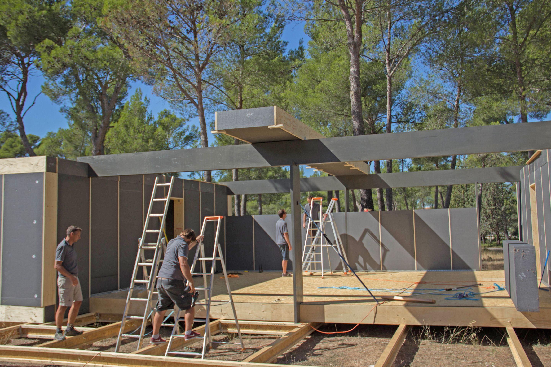 Construction Aix En Provence pop-up house aix-en-provence, france   maison, construction